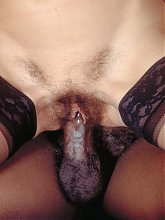 A handsome black stud gets ganged up by a group of cock starved mature women craving for black meat