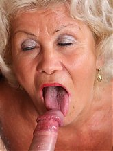 Sultry grandma Francesca shows us that she still has it by hooking up with a much younger guy