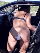 Horny mature ex girlfriend Mila gets nasty with her boyfriend and go for outdoor sex play in this scene